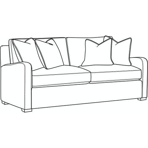 Braxton Culler Inc - Halsey Short Sofa