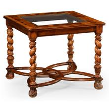 """Oyster side table (24"""") Plain top"""