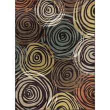 Deco - DCO1015 Brown Rug (Multiple sizes available)