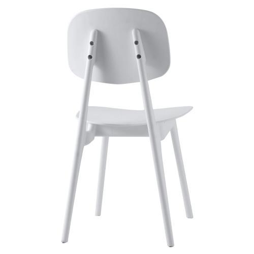 Tao White Chair (Set of 2)
