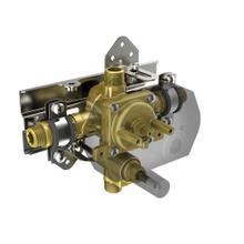 4-port pressure balance valve, with diverter