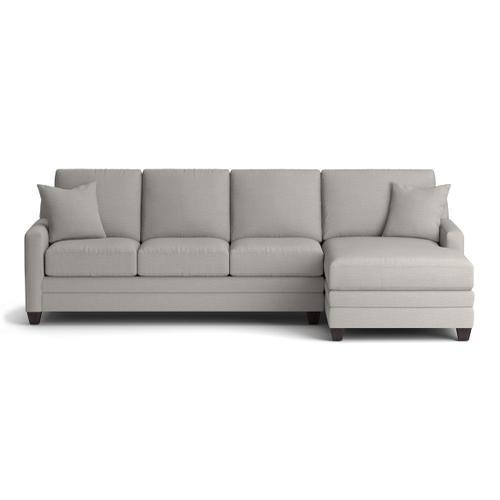 Bassett Furniture - Carolina Thin Track Arm Right Chaise Sectional