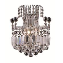 Corona Collection Wall Sconce Chrome Finish 2Lt
