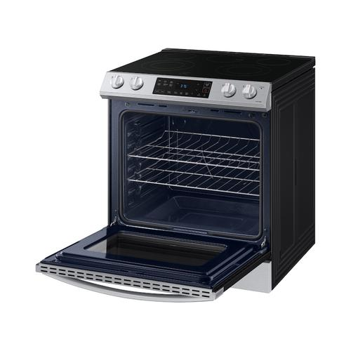 6.3 cu ft. Smart Slide-in Electric Range in Stainless Steel