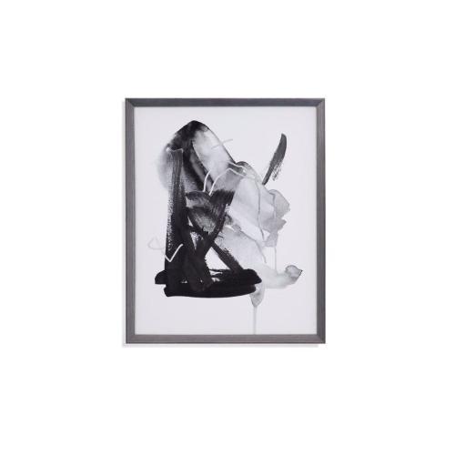 Bassett Mirror Company - Black & Gray Collide II