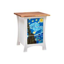 View Product - Starry Night 3 Drawer Nightstand