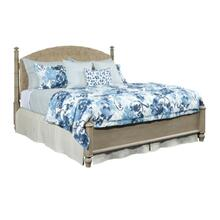 Currituck Natural Woven Cane King 3 Piece Bed