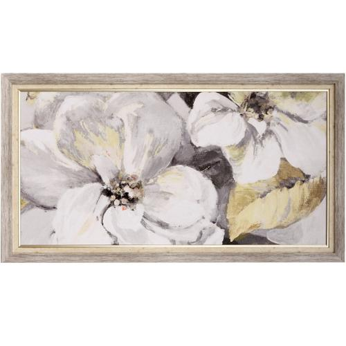 Style Craft - ENDLESS BLOSSOM PANEL  54in w X 30in ht  Textured Framed Print  Made in USA