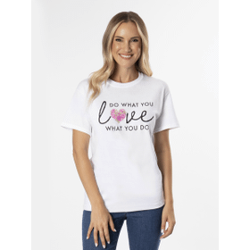 Do What You Love Love What You Do T-Shirt - L