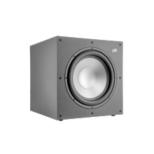 """See Details - 12"""" High Performance, 100W Powered Subwoofer in Black"""