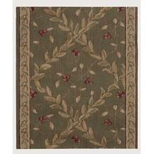 "Ashton House Regal Vine A02r Olive 27"" Runner"
