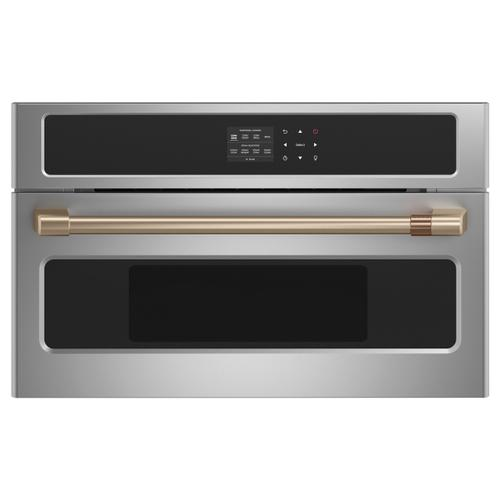 "Café Wall Oven/Advantium® oven pro handle kit - 27"" - Brushed Bronze"