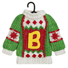 Sweater Ornament - B