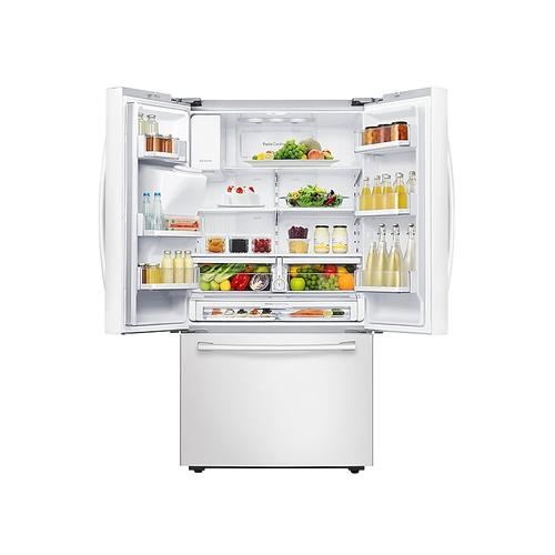 23 cu. ft. French Door Refrigerator in White