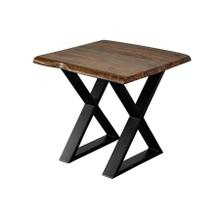 View Product - Manzanita Harvest End Table with Different Bases, VCS-ET24H