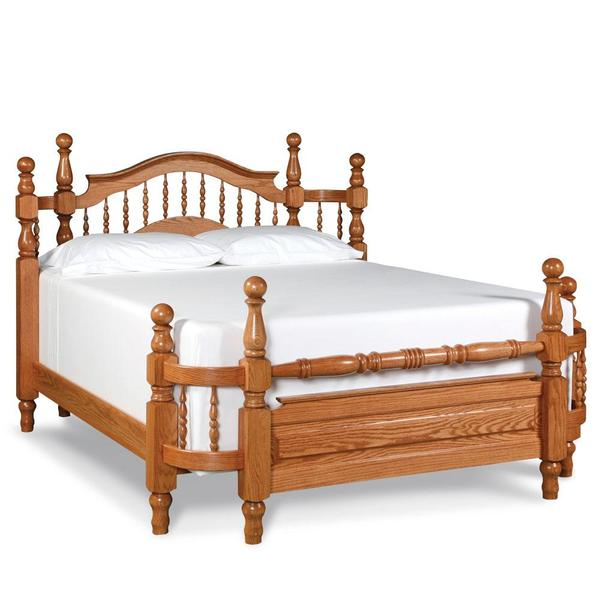 See Details - Spindle Wrap-Around Bed, Queen