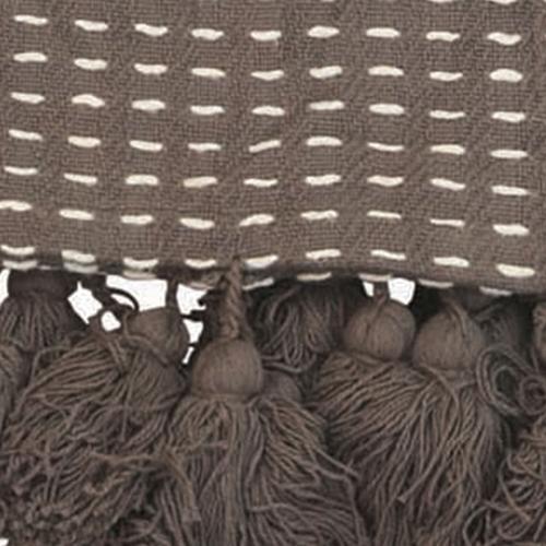 Foreside Home & Garden - Hand Woven Kadin Throw