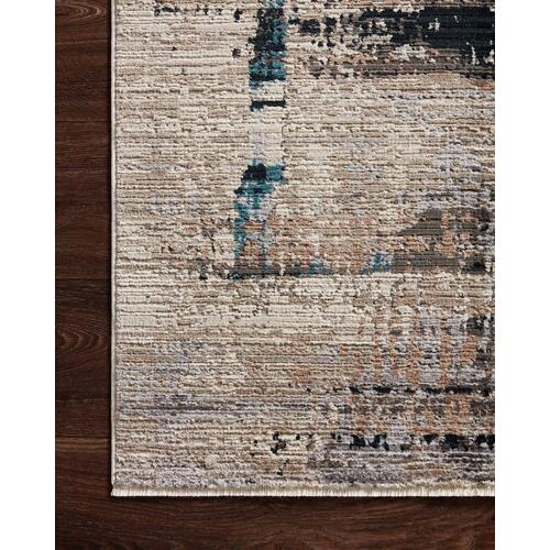 LEI-01 Granite / Slate Rug