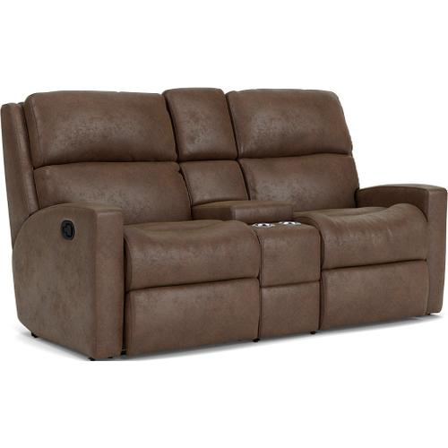 - Catalina Reclining Loveseat with Console