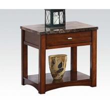 See Details - Faux M. End Table W/drawer