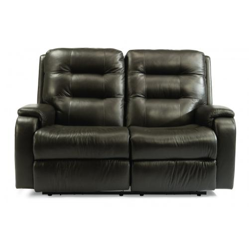 Arlo Power Reclining Loveseat with Power Headrests & Lumbar