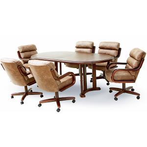 Gallery - Table Base: Twin Legs (walnut)