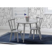 Homestead Table and Chair Set (2 Chairs Included) - Grey (026)