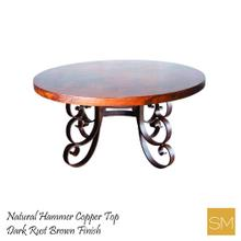 Hammer Coppper Dining Table