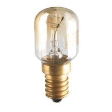 Incandescent bulb for the interior of ovens