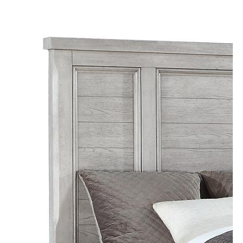 Emerald Home Warwick II Queen Bed Footboard Grey B528-10fb-03