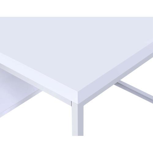 Lucia White 3-Piece Set (Cocktail & 2 End Tables)