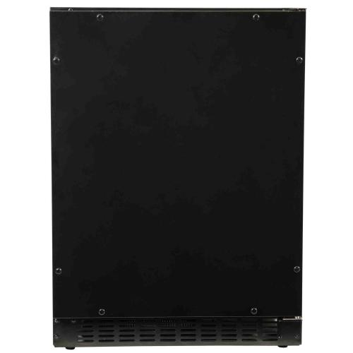 """Product Image - Azure Home Products A124RO     Refrigerator - 24"""" Solid Overlay Door"""