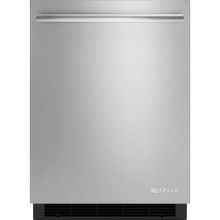 """See Details - 24"""" Under Counter Refrigerator, Euro-Style Stainless Handle"""
