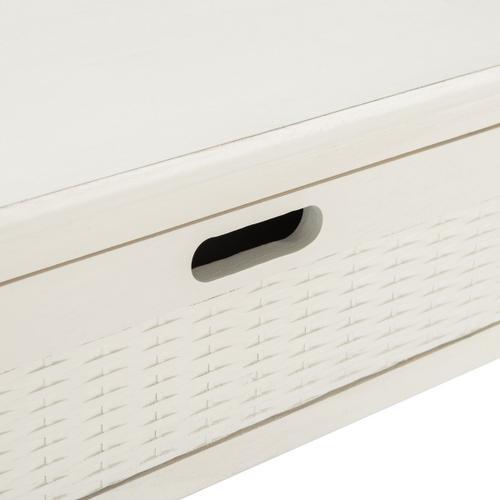 Safavieh - Landers 2 Drawer Console - Distressed White