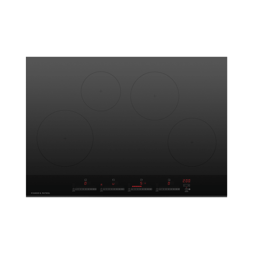 "Induction Cooktop, 30"", 4 Zones"