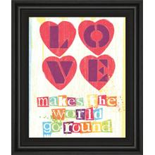 """""""Must Be Love I"""" By Tom Frazier Framed Print Wall Art"""