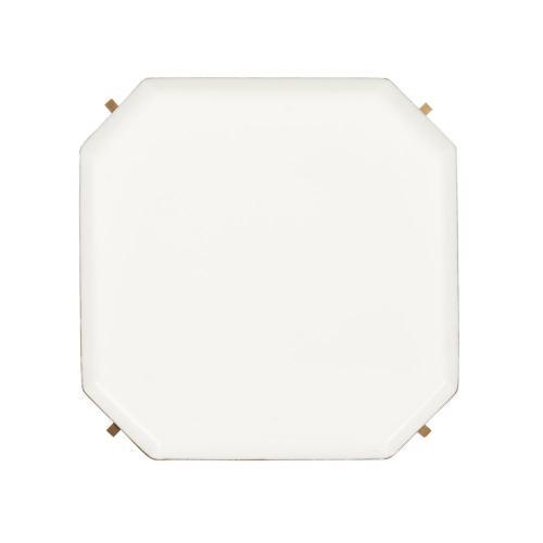 Sylvie 5 Tier Etagere - White / Brass