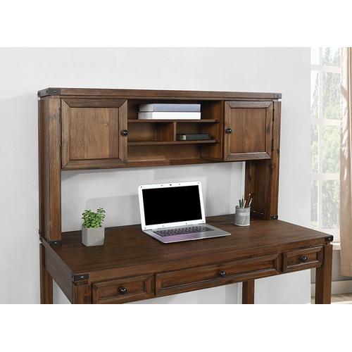 Office Star - Hutch for Baton Rouge Desk Btd2937 In Walnut Finish