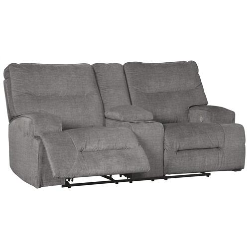 Coombs Power Reclining Console Loveseat