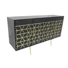 See Details - ZigZag 4 Door Sideboard, 2615L