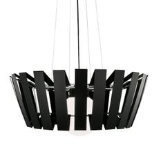 Space Array Large Pendant - PAINTED Matte Black