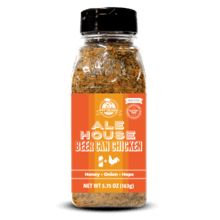 5.75 oz Ale House Beer Can Chicken Rub