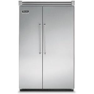 "Viking - 48"" Side-by-Side Refrigerator/Freezer - VISB (Integrated Installation)"
