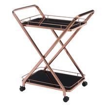 See Details - Vesuvius Serving Cart Rose Gold