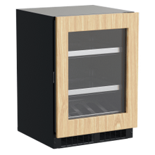 24-In Professional Built-In Beverage Center With Reversible Hinge with Door Style - Panel Ready Frame Glass