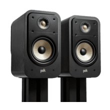 View Product - High-Resolution Bookshelf LoudSpeakers For Hi-Fi LISTENING & Home Theater in Black