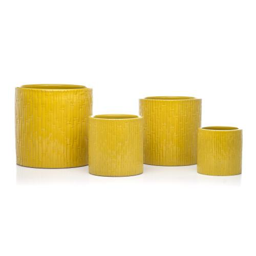 Bamboo Planter - Set of 4