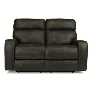 See Details - Tomkins Park Power Reclining Loveseat with Power Headrests
