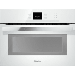 MieleH 6600 BM - 24 Inch Speed Oven with combi-modes and Roast probe for precise-temperature cooking.