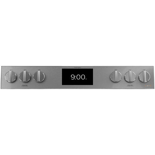 "Cafe Canada - Café ™ 30"" Slide-In, Front-Control, Dual-Fuel Range Modern Glass"